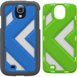Trident Case - Apollo Series Case for Samsung Galaxy S4 - Blue and Gray