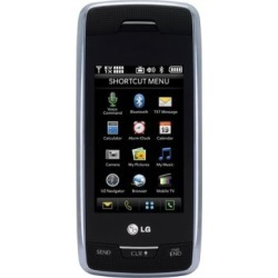 LG Voyager VX10000 Cell Phone for Verizon (Gray) - VX10000-Titanium-Verizon-UD-A2Z
