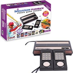 IntelliVision AtGames Flashback Classic Game Console  with 2 Controllers