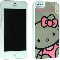 Hello Kitty Mirror Case, Close Up Kitty for iP5