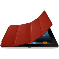 Apple iPad 2/3/4 Smart Cover Leather Case (Red) found on Bargain Bro India from Unlimited Cellular for $13.29