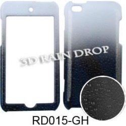 Unlimited Cellular Snap-On Case for Apple iPod Touch 4 (3D Rain Drop Design, Black/White) found on Bargain Bro from Unlimited Cellular for USD $4.55