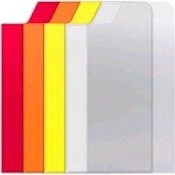 Trident Apollo Interchangeable Back Plate for Apple iPhone 5 - Orange/White/Yellow/Red/Clear
