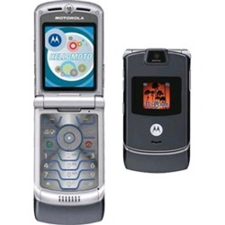 Motorola v3m Razr Cell Phone, Bluetooth, Camera, for Verizon (Gray)