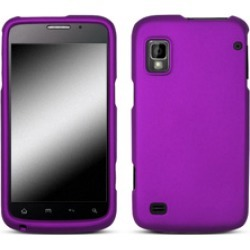Wireless Inc. Mobile Rubber Shield for ZTE Warp - Purple