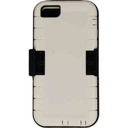 Cell Armor 2 In 1 Novelty Case With Holster For IPhone 5s/5 (White/Black) - IPHONE5S-NOV-F15-WHG