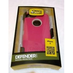 OtterBox Defender Series Case for Apple iPhone 5/5S (Blush/Stone Gray/Peony Pink) - 7722122