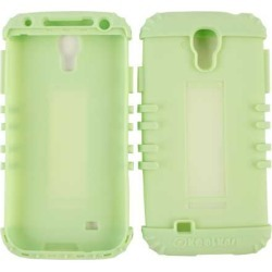 Cell Armor Rocker Series Silicone Skin for Samsung Galaxy S4 (Light Green )