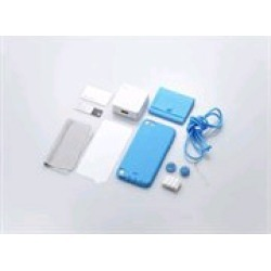 Simplism Japan Starter Pack for Apple iPod touch 5 (Blue) - TR-SPTC12-BL/EN