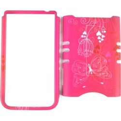 Unlimited Cellular Rocker Snap-On Case for Samsung Galaxy Note 2 (Butterfly and Flower on Pink) found on Bargain Bro India from Unlimited Cellular for $6.09