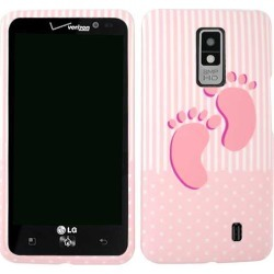 Unlimited Cellular Snap-On Case for LG Spectrum VS920 (Baby Girl Rubberized) found on Bargain Bro Philippines from Unlimited Cellular for $5.99