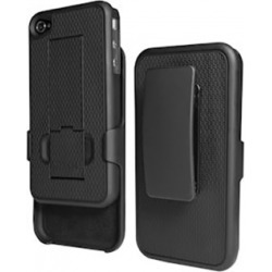 Puregear Holster with Kickstand Belt Clip for Apple iPhone 4 - 02-001-01085