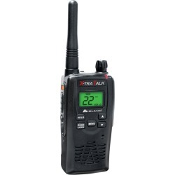 Midland 36-Mile 22-Channel FRS/GMRS Two-Way Radio Single - (Black)- GXT5000