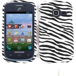 Unlimited Cellular Smooth Finish Cover Case for SAMR740 Galaxy Discover/ S738 Centura (Zebra)