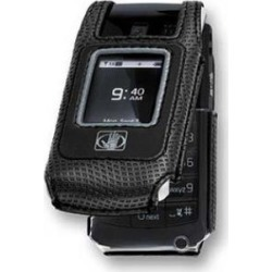 Body Glove Fitted Glove Case with Swivel Clip for Nokia Shade 2705 (Black)