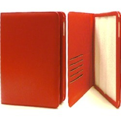 Cell Armor Executive Pouch for Apple iPad (Red)