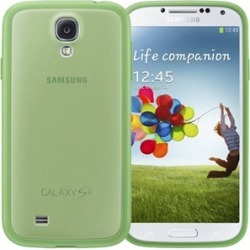 Samsung Protective Cover Plus Case for Samsung Galaxy S4 (Green)