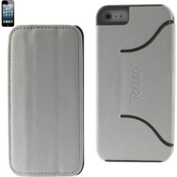 Reiko - Horse Skin Fitting Case for Apple iPhone 5 - White
