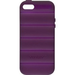 Ventev SlipGrip Case for Apple iPhone 5 (Plum Purple) found on Bargain Bro India from Unlimited Cellular for $10.29