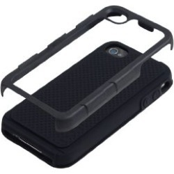 Incipio Destroyer Ultra Case for apple iPhone 4 with holster - Black (IPH-011)