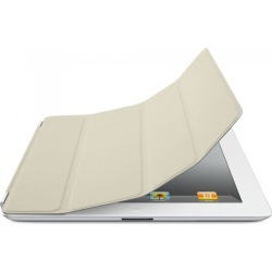 Original Apple iPad 2, 3, 4 Leather Smart Cover (Cream) found on Bargain Bro India from Unlimited Cellular for $17.39