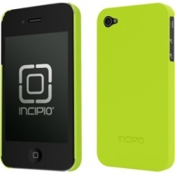 Incipio Yellow & Green Feather Fitted Case for iPhone 4