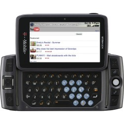 Gray - Sharp Sidekick LX 2009 PV300 Cell Phone, QWERTY keyboard, Bluetooth, 3MP Camera, GSM World Phone, for T-Mobile
