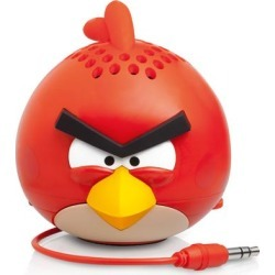 Gear4 Angry Birds Classic Mini Speaker for Apple iPhone 5 (Red Bird) - PG778G