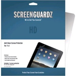 ScreenGuardz HD Anti-Glare Screen Protector for Apple iPad - Clear found on Bargain Bro India from Unlimited Cellular for $21.39