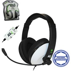 Turtle Beach -  Ear Force XL1 Wired Headset for Xbox 360 - White