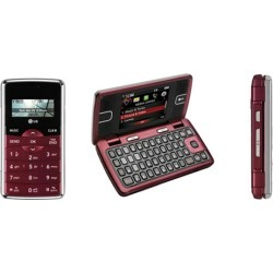 LG enV2 VX-9100 QWERTY Cell Phone for Verizon (Red) - VX9100-Red-Verizon-RB-A2Z