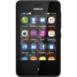 Nokia Asha 501 Unlocked GSM Touchscreen Cell Phone - Black