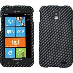 Unlimited Cellular Snap-On Case for Samsung I937/ Focus S (Stitches Carbon Fiber Rubberized) found on Bargain Bro Philippines from Unlimited Cellular for $5.99