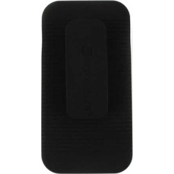 Unlimited Cellular Hybrid Fit On Jelly Case with Holster for Apple iPhone 5/5S (Black)