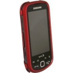 Samsung M910 Intercept Rubberized Snap-On Case (Red) found on Bargain Bro India from Unlimited Cellular for $5.99