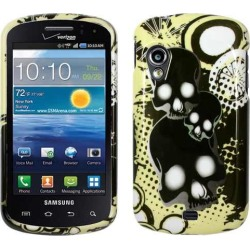 Unlimited Cellular Snap-On Case for Samsung Stratosphere/Galaxy Metrix 4G (Shadow Skulls found on Bargain Bro Philippines from Unlimited Cellular for $5.99
