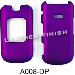 Unlimited Cellular Snap-On Cover Case for Samsung Factor M260 (Honey Dark Purple, Leather Finish)