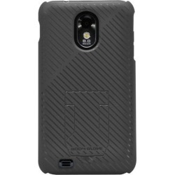 Body Glove Fade Soft Touch Case with Hideaway Stand  for Samsung Epic Touch  4G /Galaxy S II (Black)