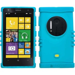 Unlimited Cellular Rocker Series Skin Case for Nokia Lumia 1020 (Blueish Green) found on Bargain Bro from Unlimited Cellular for USD $4.55