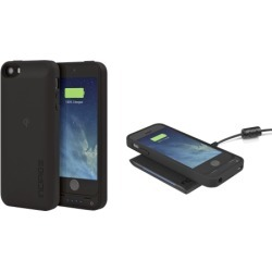 Incipio Technologies - offGRID Qi Battery Case for Apple iPhone 5, Black