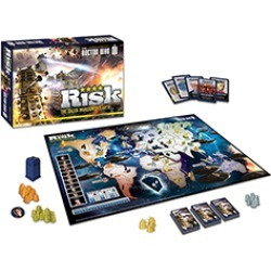 Board Game - Risk Board Game Doctor Who