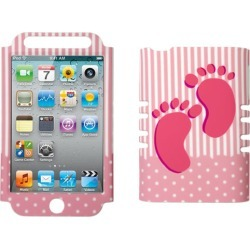 Unlimited Cellular Rocker Snap-On Case for Apple iPod Touch 4 (Baby Girl Rubberized) found on Bargain Bro Philippines from Unlimited Cellular for $5.99