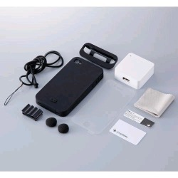 Simplism Japan Starter Pack for Apple iPhone 4S - Combo Pack (Black) - TR-SPIPN-BK/EN