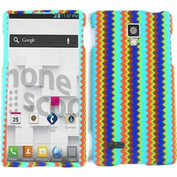 Unlimited Cellular Snap-On Case for LG Optimus L9 P769 (Red/Yellow/Blue Vertical Stripes) found on Bargain Bro India from Unlimited Cellular for $5.99