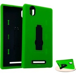 Jelly Case, Green&Black with Stand found on Bargain Bro Philippines from Unlimited Cellular for $6.99