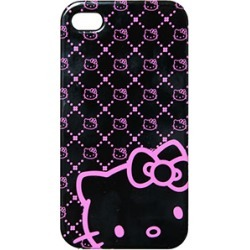 Hello Kitty Protector Case, Pink Neon for iPhone4