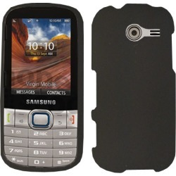 Unlimited Cellular Snap-On Cover Case for Samsung M390/Array/ Montage (Honey Black, Leather Finish)
