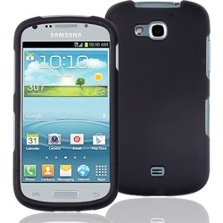 Decoro Brand Premium Protector Case for Samsung R 830 (Rubber Black) - CRSAMR830BK found on Bargain Bro from Unlimited Cellular for USD $4.55