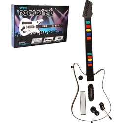 KMD -  Fret Guitar Wireless  Controller  for Nintendo  Wii (White)