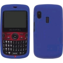Silicone Gel Case for Alcatel OT-800 One Touch Tribe - Cobalt Blue